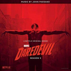 Carátula Banda Sonora Daredevil Season 3 - John Paesano