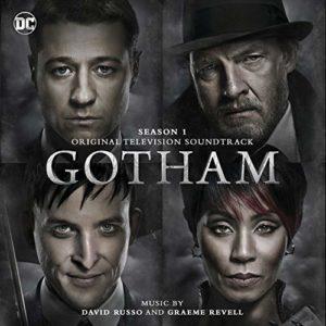Carátula BSO Gotham: Season 1 - David Russo y Graeme Revell