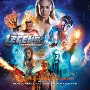Carátula BSO Legends of Tomorrow: Season 3 - Blake Neely