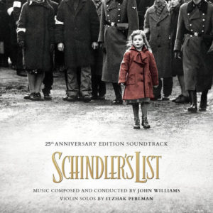 Carátula BSO Schindler´s List - John Williams