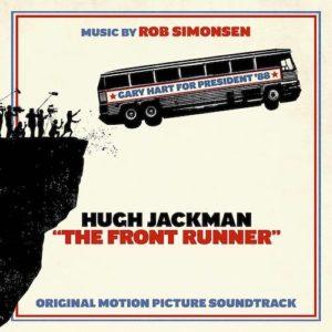 Carátula BSO The Front Runner - Rob Simonsen