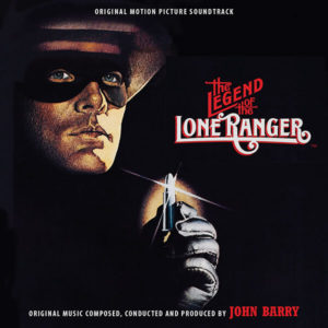 Carátula BSO The Legend of the Lone Ranger - John Barry
