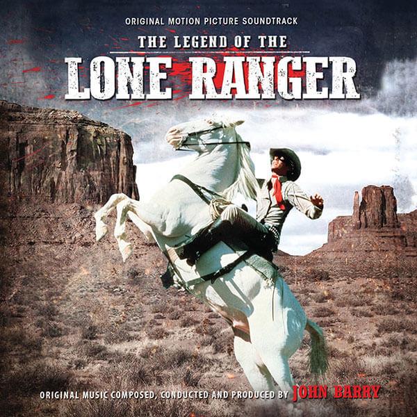 Intrada edita la banda sonora The Legend of the Lone Ranger