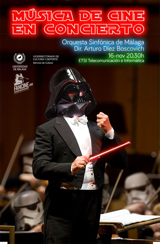 Concierto Bandas Sonoras en el Fancine 28