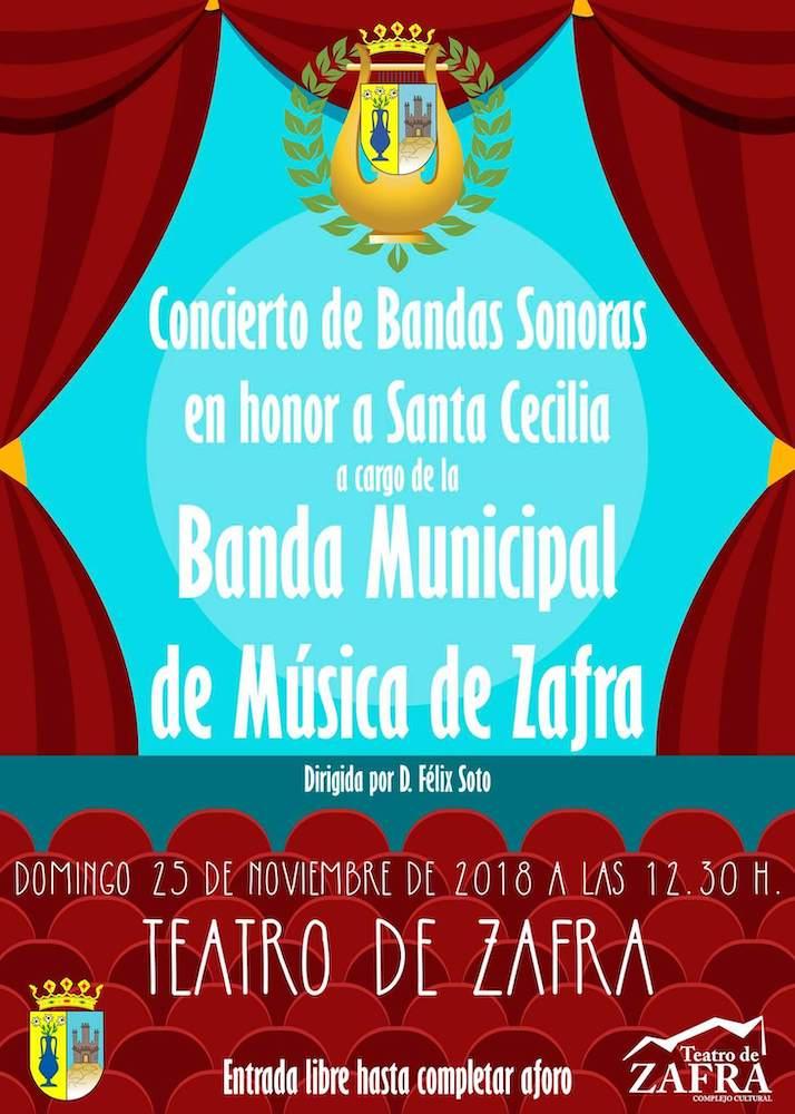 Concierto Bandas Sonoras por la Banda Municipal de Música de Zafra