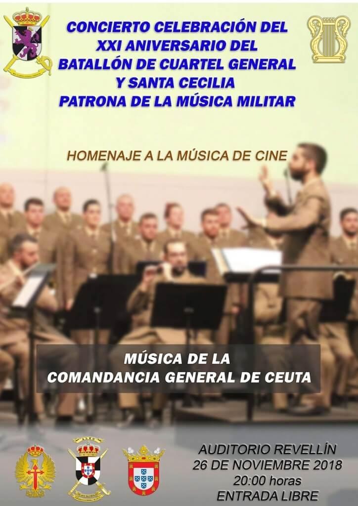 Concierto de la Unidad de Música de la Comandancia General de Ceuta