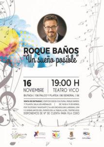 Poster Roque Baños - Un sueño posible