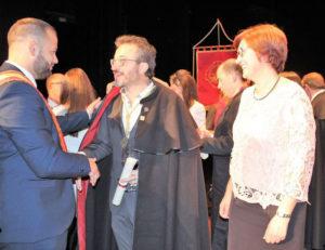 Roque Baños nombrado Cofrade de Honor