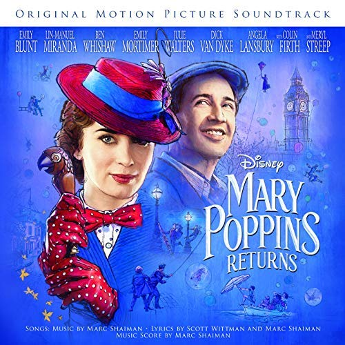 Walt Disney Records edita la banda sonora Mary Poppins Returns
