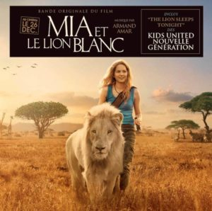 Carátula BSO Mia et le Lion Blanc - Armand Amar