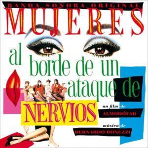 Carátula BSO Mujeres al borde de un ataque de nervios - Bernardo Bonezzi