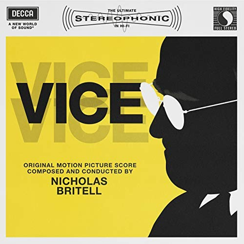 Carátula BSO Vice - Nicholas Britell