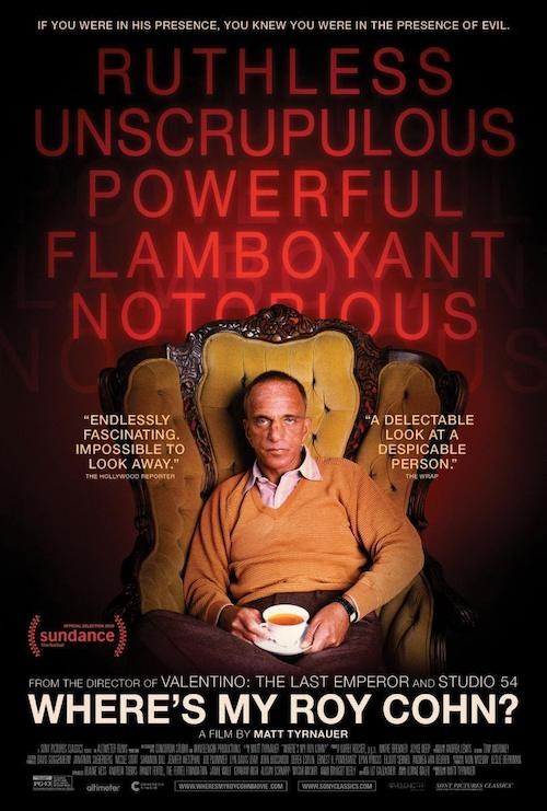 Lorne Balfepara el documental Where's My Roy Cohn?