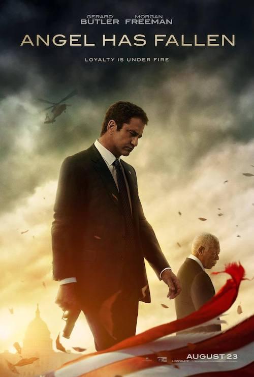 David Buckley para la secuela de acción Angel Has Fallen
