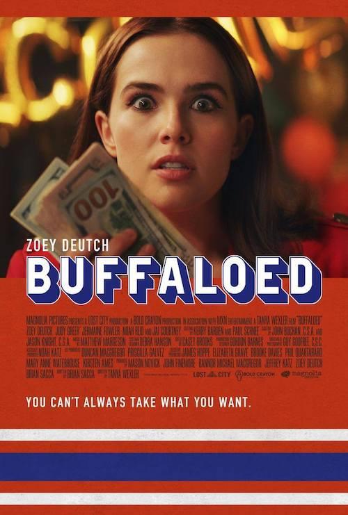 Matthew Margeson para la comedia dramática Buffaloed