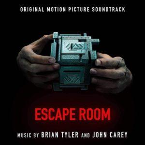 Carátula BSO Escape Room Brian Tyler y John Carey
