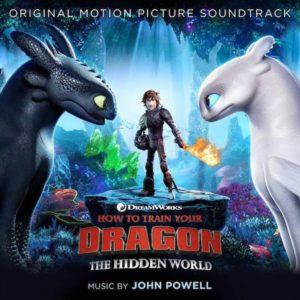 Carátula BSO How to Train Your Dragon: The Hidden World - John Powell