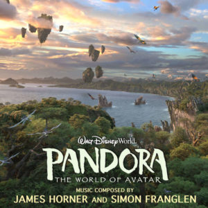 Carátula BSO Pandora: The World of Avatar James Horner y Simon Franglen