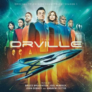Carátula BSO The Orville - Bruce Broughton, Andrew Cottee, John Debney y Joel McNeely