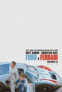 Póster Ford v. Ferrari