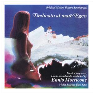 Carátula BSO Dedicato al mare Egeo - Ennio Morricone