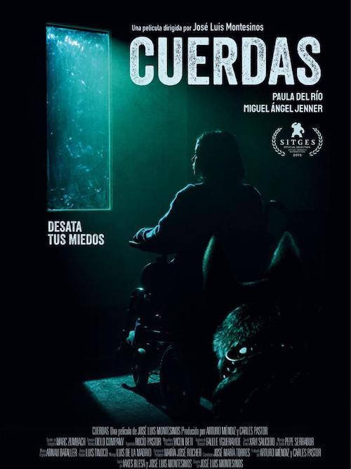 Arnau Bataller para el thriller Cuerdas