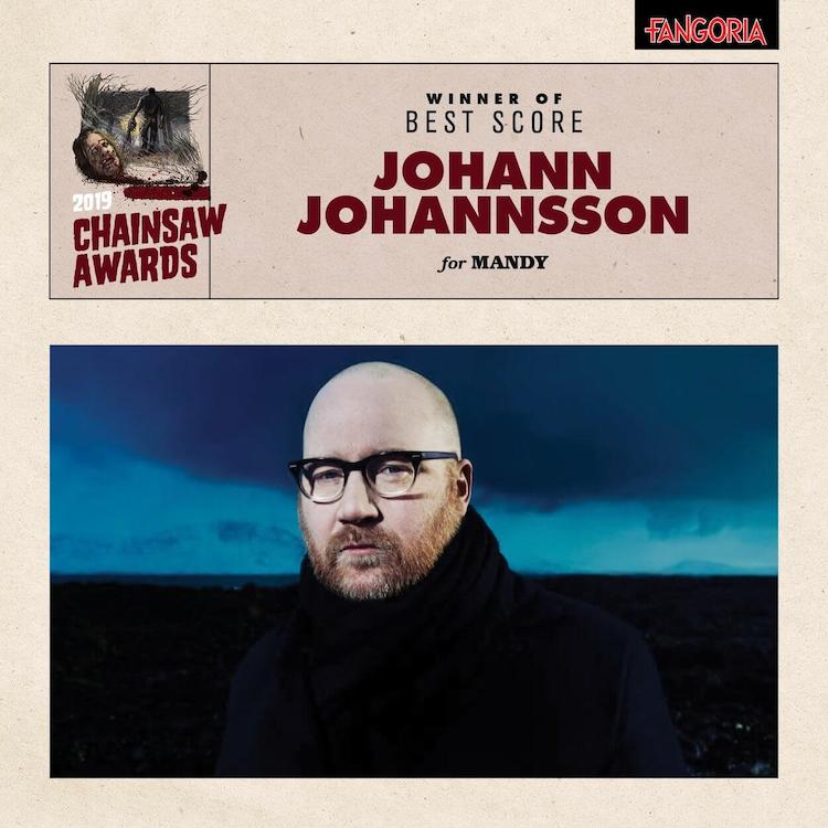 Jóhann Jóhannson gana el Chainsaw Awards por Mandy