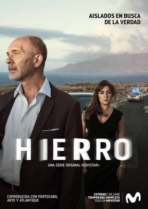 Elba Fernandez y Xavier Font para la serie Hierro