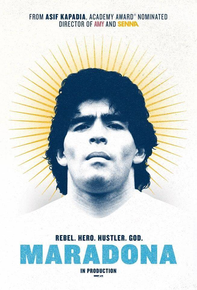 Antonio Pinto para el documental Maradona