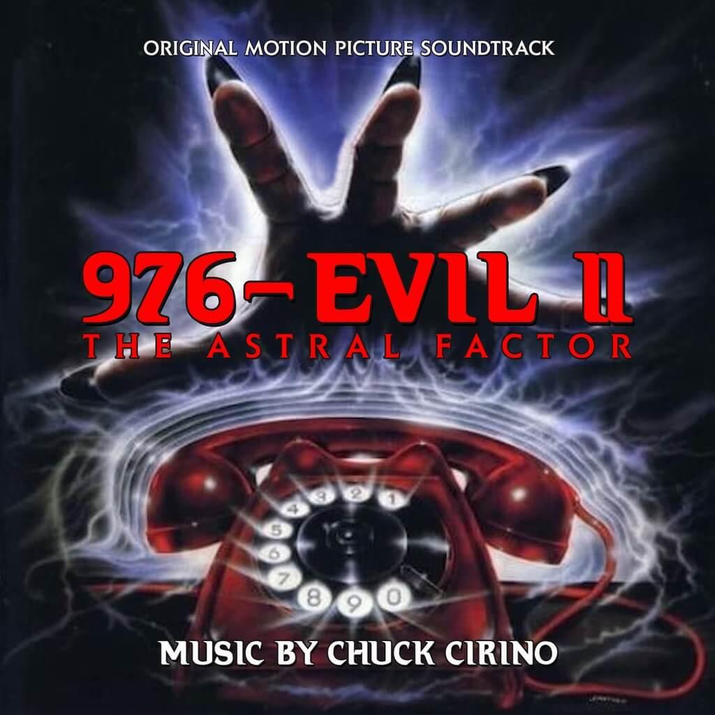 976-Evil II de Chuck Cirino en Buysoundtrax