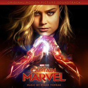Carátula BSO Captain Marvel - Pinar Toprak