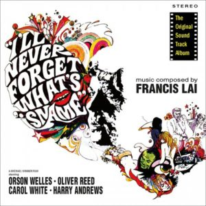 Carátula BSO I'll Never Forget What's'isname - Francis Lai
