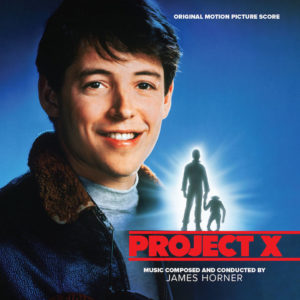 Carátula BSO Project X - James Horner