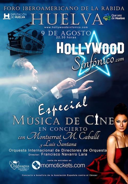Concierto Hollywood Sinfónico en Huelva