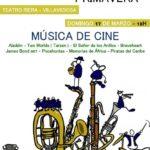 Póster Concierto de Primavera de la Banda de Música de Villaviciosa