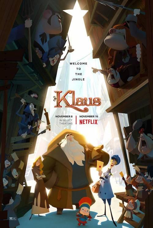 Alfonso González Aguilar para la cinta de animación Klaus