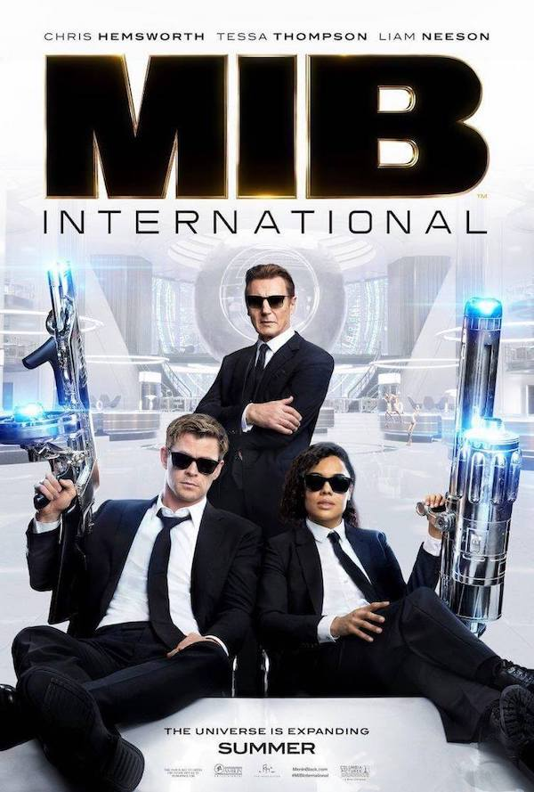 Danny Elfman y Chris Bacon para Men in Black: International