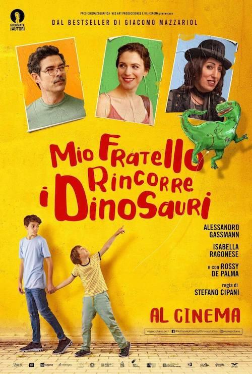 Lucas Vidal para el drama Mio fratello rincorre i dinosauri