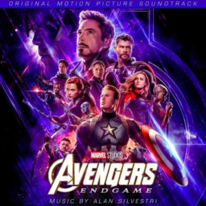 Carátula BSO Avengers: Endgame - Alan Silvestri