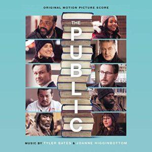 Carátula BSO The Public - Tyler Bates y Joanne Higginbottom