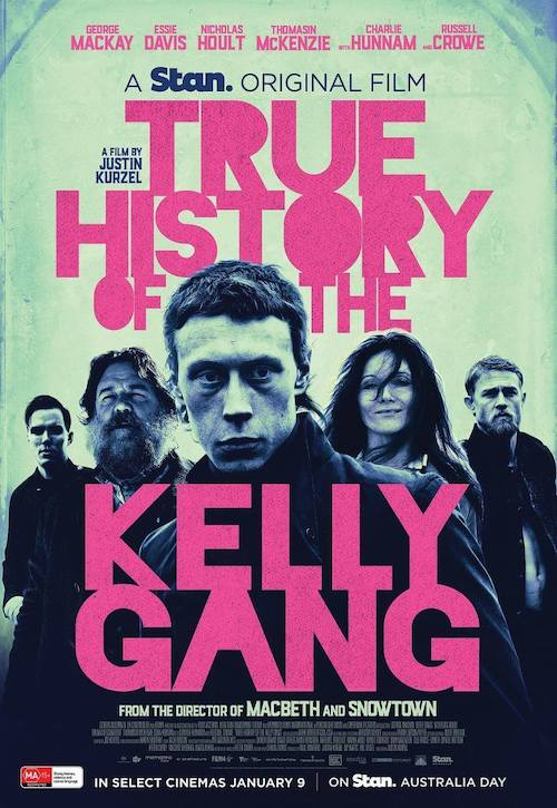 Jed Kurzel para el western The True History of the Kelly Gang