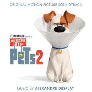 Carátula BSO The Secret Life of Pets 2 - Alexandre Desplat