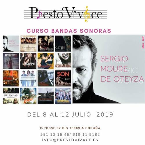 Curso BSO impartido por Sergio Moure de Oteyza en Presto Vivace