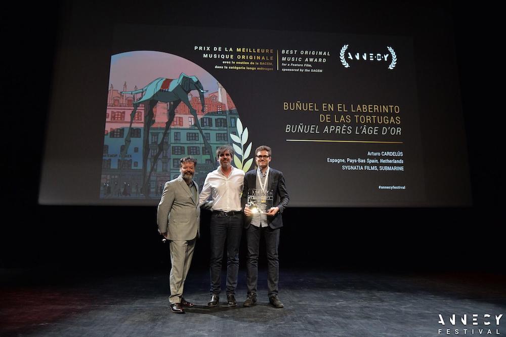 Arturo Cardelús galardonado en el prestigioso Festival de Annecy