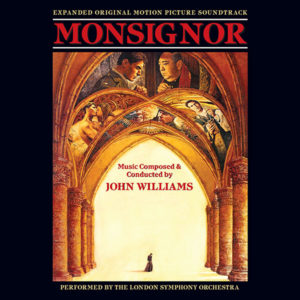 Carátula BSO Monsignor - John Williams