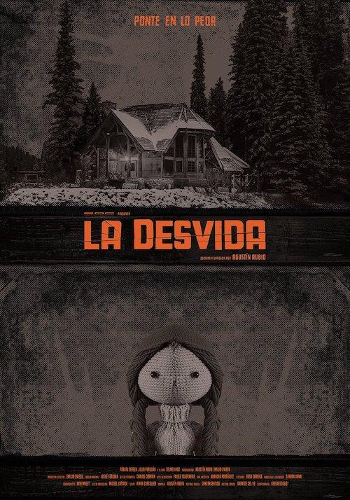 Josué Vergara para la cinta de terror La desvida
