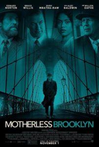Póster Motherless Brooklyn
