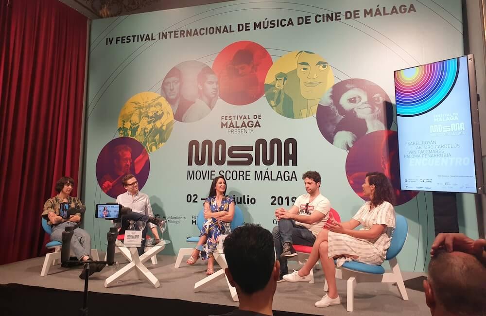 Arturo, Paloma, Isabel e Iván MOSMA 2019
