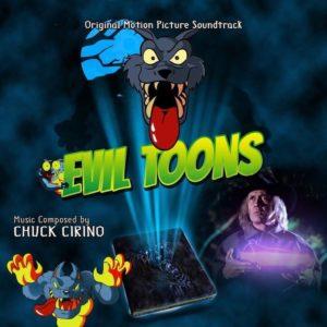 Carátula BSO Evil Toons - Chuck Cirino