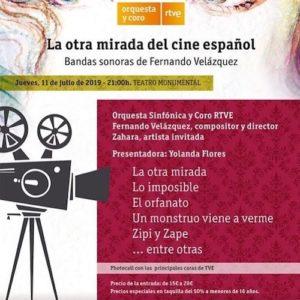 Cartel La otra mirada del cine español